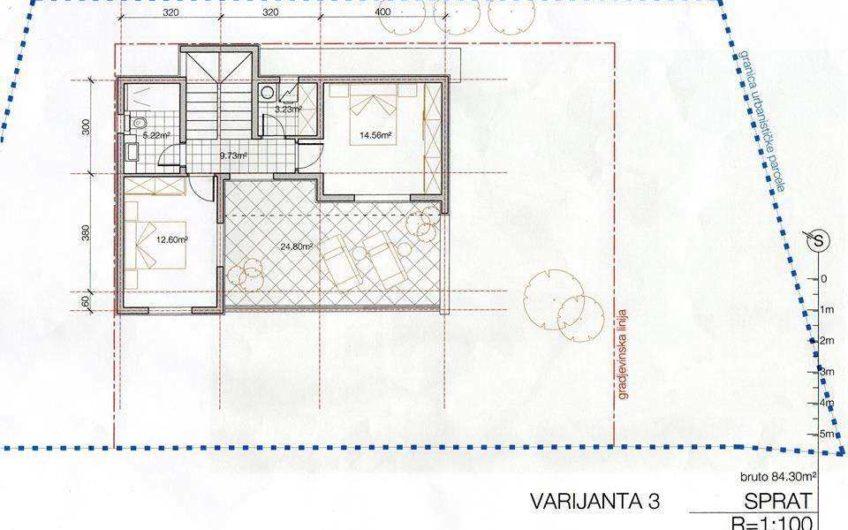 Новый дом недалеко от Будвы в Лапчичи