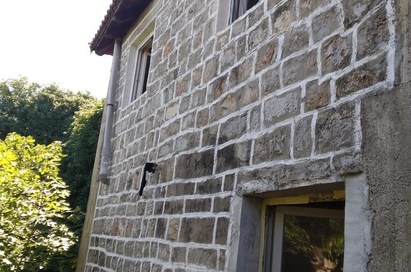 Каменный дом с видом на море в Богишичах, Луштица